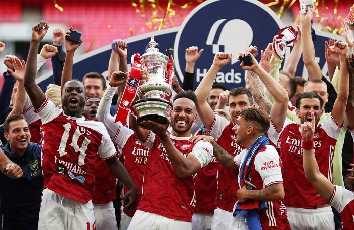 Trong lịch sử giải FA Cup, Arsenal là đội bóng giành được nhiều cúp vô địch nhất